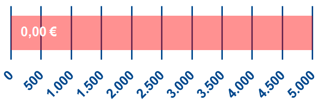 Spendenbarometer - aktueller Stand